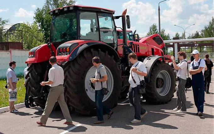 Каждый 10-й трактор в мире - из Беларуси!