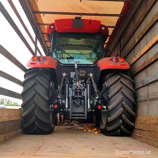 Итальянские трактора McCormick прибыли в Ташкент