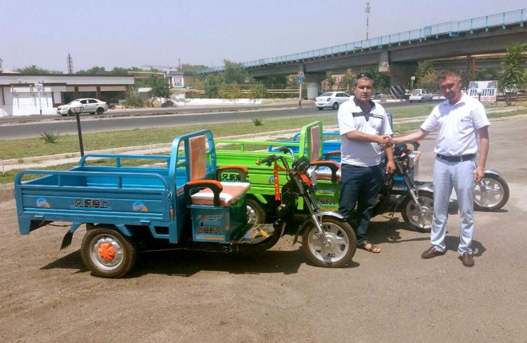 Электрический трицикл FOREVER