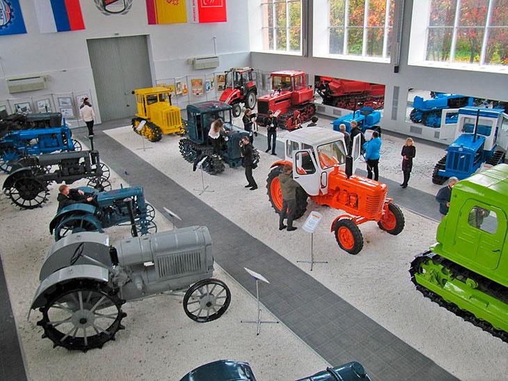 Музей истории трактора в Челябинске